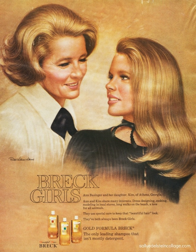 Breck Girls - That's Kim Bassinger (prior to becoming an actress) and her mom.