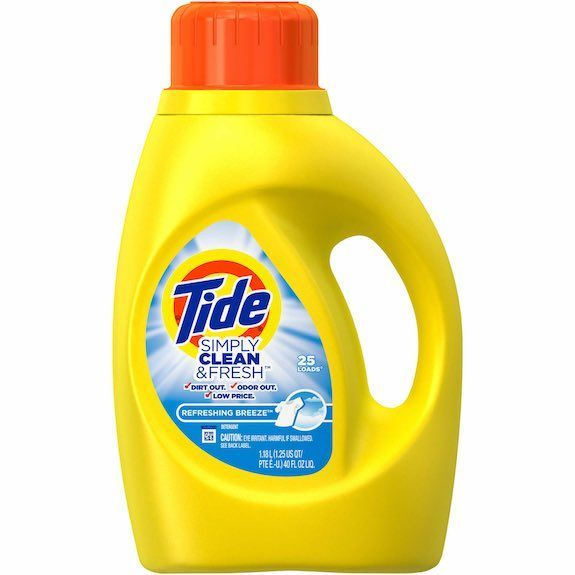 Tide Simply Liquid Laundry Detergent Just 1 99 Tide Simply Clean Laundry Detergent High Efficiency Laundry Detergent