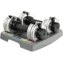 Adjustable Weight Dumbbells 5-25 $65.00