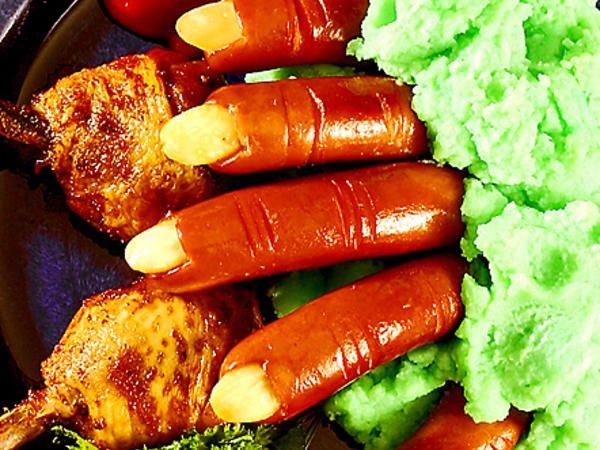 Häxfingrar med grönt mos