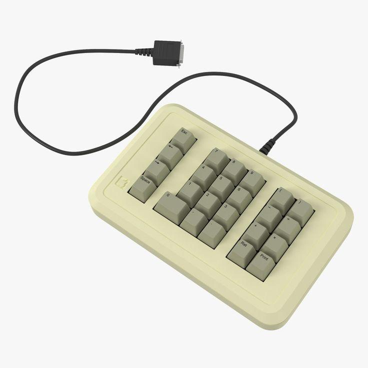 3D Apple Iie Numeric Keypad - 3D Model