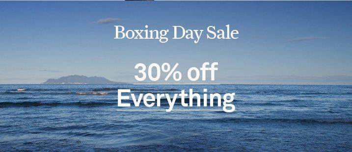 Bargain - 30% Off - Everything - Boxing Day Sale @ Swanndri