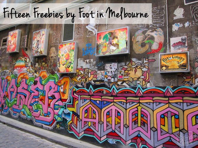This list of my favorite things to see and do by foot in Melbourne is perfect for anyone visiting on a budget. Here are 15 free things to do in Melbourne! |The Blonde Abroad #australia