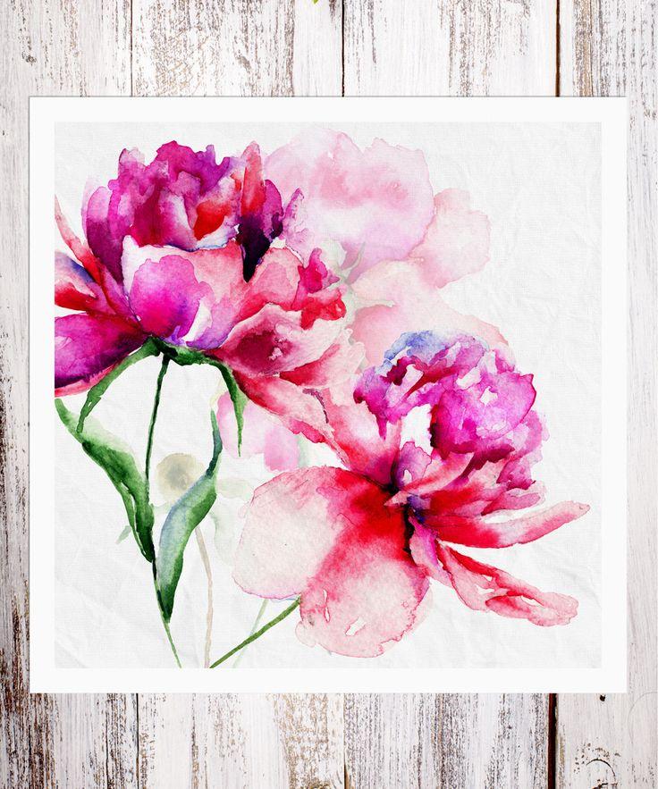 BirdRow Large Floral Art Print | zulily