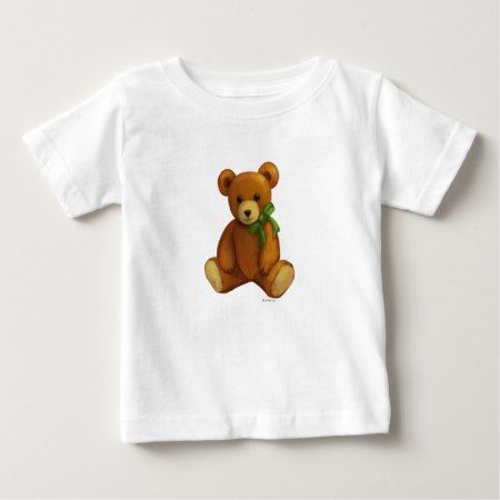 Toy Teddy Bear Baby T-Shirt - click/tap to personalize and buy