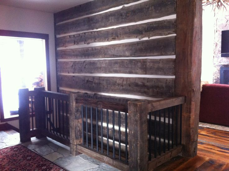 Hand Hewn Log Skins And Chinking Make The Perfect Accent