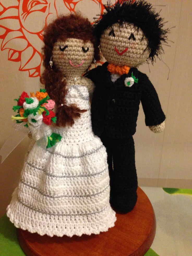 575 besten Hochzeit Bilder auf Pinterest | Freunde, Häkelpuppen und ...
