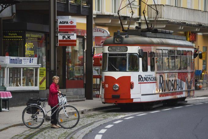 Gmunden tramway.