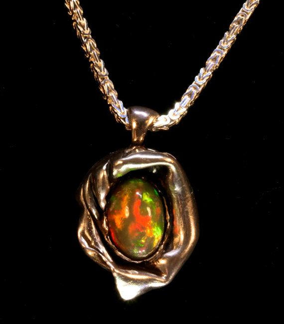 18 best opal necklaces opal pendants images on pinterest opal one of a kind rare natural semi black ethiopian opal pendant45 ctsolid welo opalrge 14x10mm hand crafted solid sterling silverdeo mozeypictures Gallery