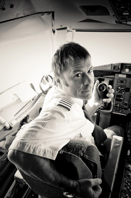 """Bruce Dickinson (1958-...). History teacher, fencing fighter, commercial airplane pilot, vocal leader of Iron Maiden. Inter alia... """"Some days you're the pigeon, some days you're the statue""""."""