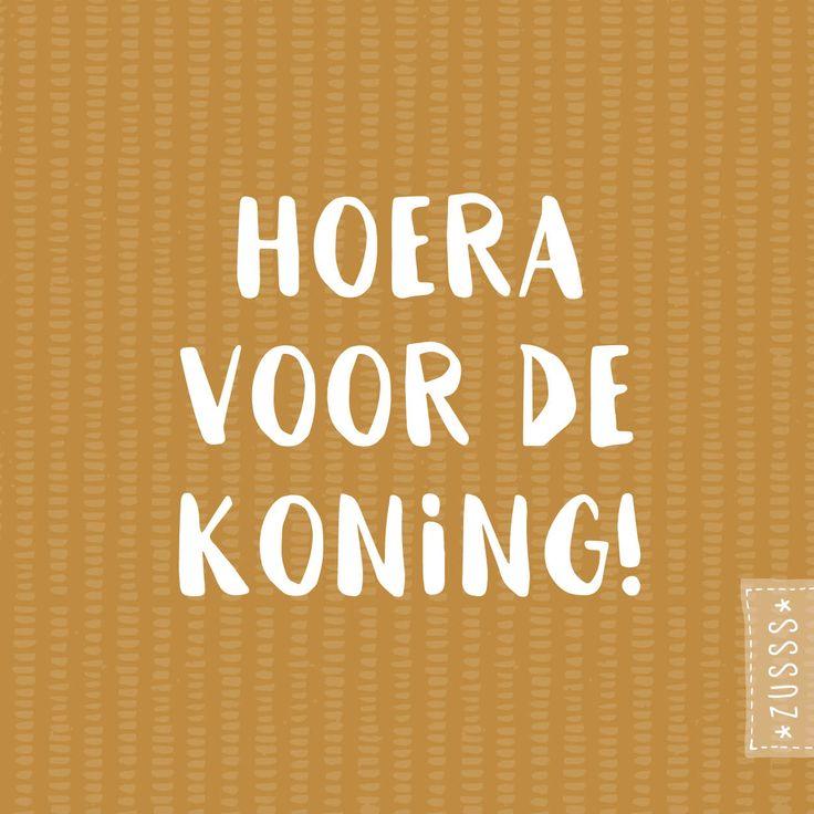 Zusss | Hoera voor de koning! - Koningsdag | http://www.zusss.nl