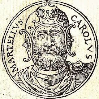 On October 25, 732 AD, the Battle of Tours and Poitiers between the united Frankish and Burgundian forces under Austrasian Mayor of the Palace Charles Martel, against an army of the Umayyad Caliphate led by Abdul Rahman Al Ghafiqi, Governor-General of al-Andalus, ended the Islamic expansion era in Europe.  http://yovisto.blogspot.de/2013/10/charles-martell-and-battle-of-tours-and.html