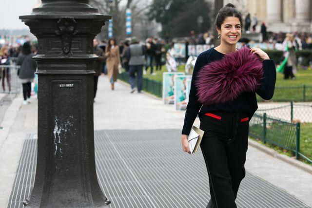 Leandra Medine at Paris Fashion Week, day 8 | Леандра Медин на Неделе моды в Париже, день 8