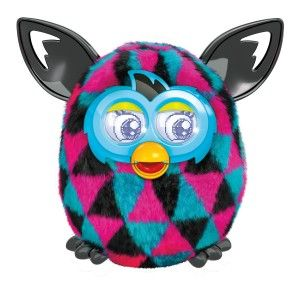 Furby Boom Plush Toy Triangles When you need to change batteries push the small 'reset' button for 2 seconds before closing it up. This will make sure all sensors work properly. Use the Furby Boom app to give your Furby Boom creature virtual food, checkups, showers and more.  http://awsomegadgetsandtoysforgirlsandboys.com/furby-boom/ Furby Boom Plush Toy Triangles