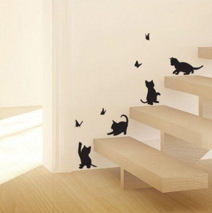Lampu0026Cat Bird Removable Wall Sticker Decal Kids Boys Girls Room Home Decor:  Amazon.co Part 69