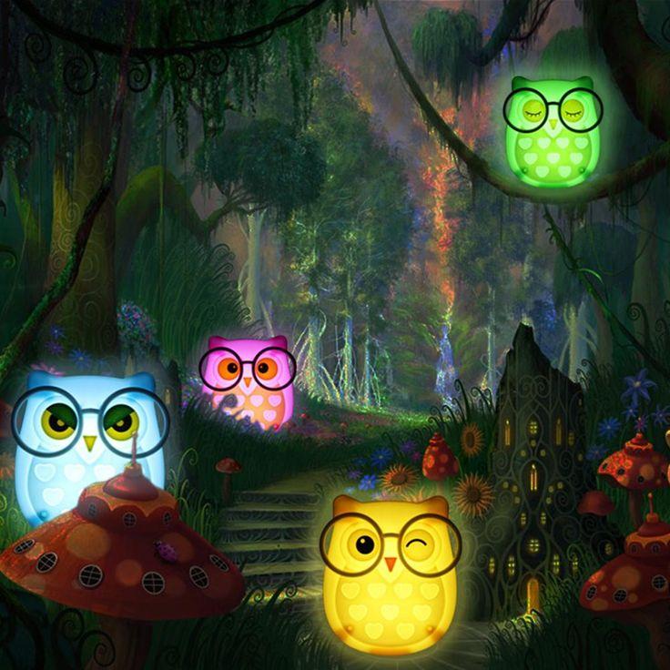 Hedwig Owl LED Night Light