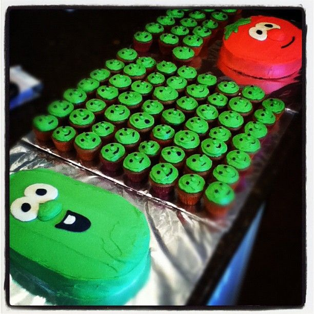 Veggie Tales bday party