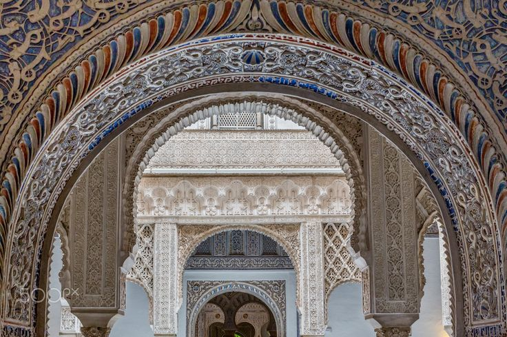 Moorish Layers - Exposure done in the Royal Alcázar of Seville (Reales Alcázares…