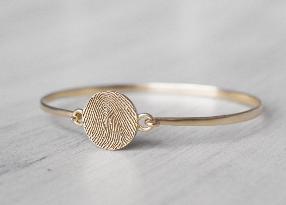 20% OFF Actual Fingerprint Bracelet with by GracePersonalized