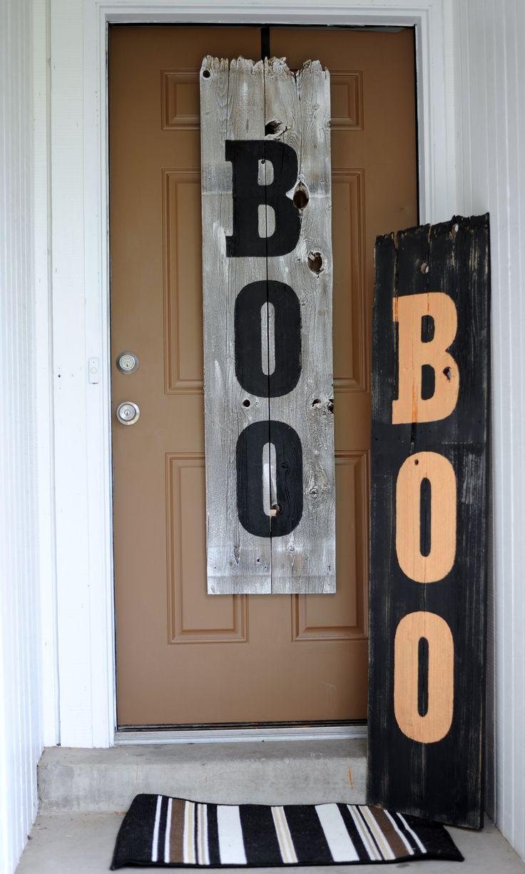 halloween diy signs