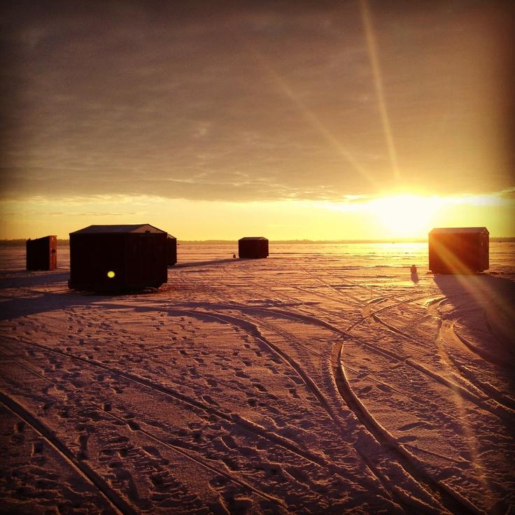Lake Simcoe Ice Fishing