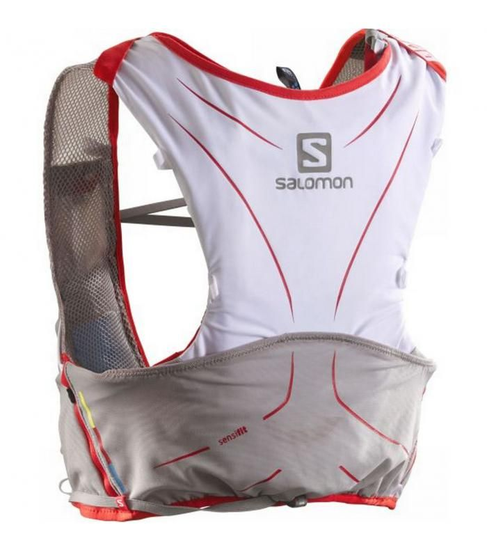 La mochila S-Lab Advanced Skin 3 5 Set de Salomon  http://www.shedmarks.es/mochilas-trail-running/3814-mochila-salomon-s-lab-advanced-skin-3-5-set-blanco.html