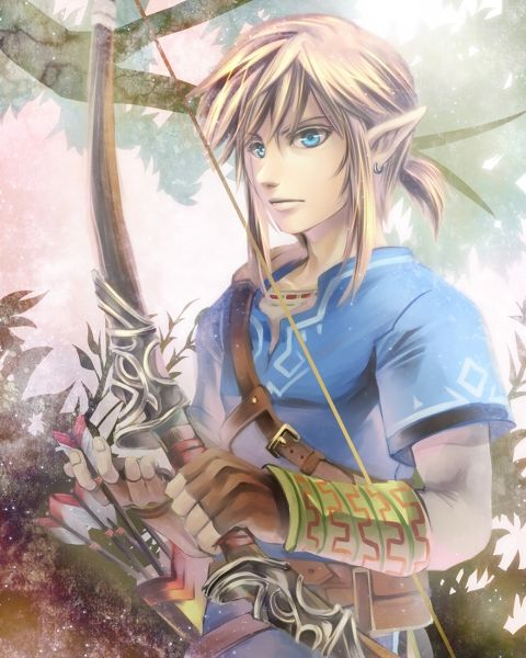 New great Link Zelda Wii U fanart -- I love that this game doesn't even have a name yet, and there's already fan art :P