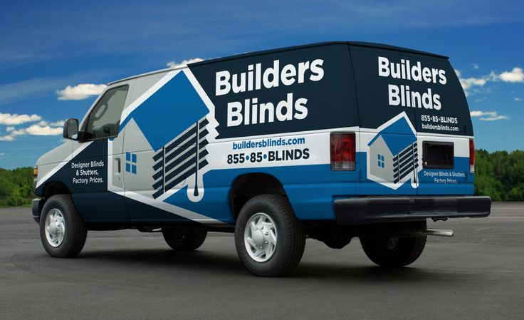 Vehicle wrap for Builders Blinds, commercial contractor in Florida. - NJ…