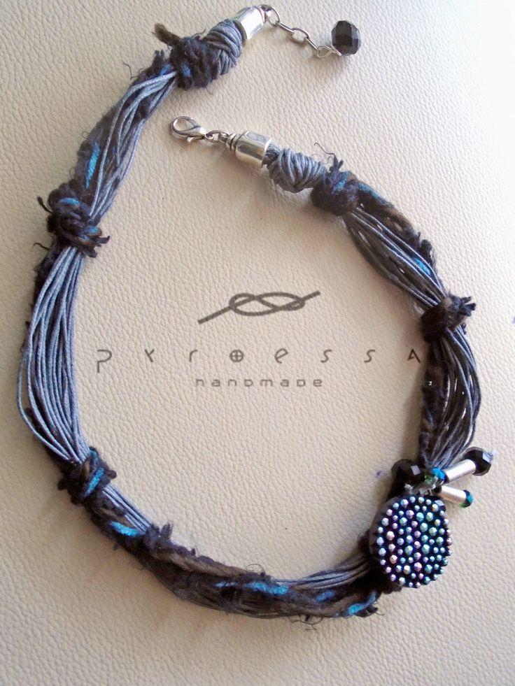 """Pyroessa Handmade: """"Trois Couleurs"""" - BLEU"""