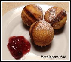 Æbleskiver uden kærnemælk | Mathiesens Mad