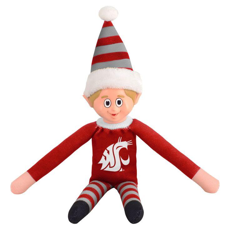 NCAA Washington State Cougars Holiday Elf