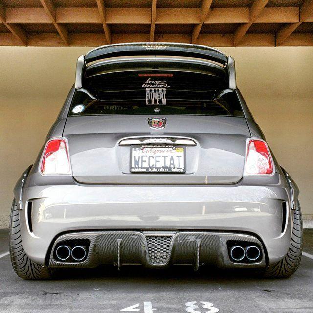FS: Fifty Go Veleno carbon fiber rear diffuser for Abarth and 500T
