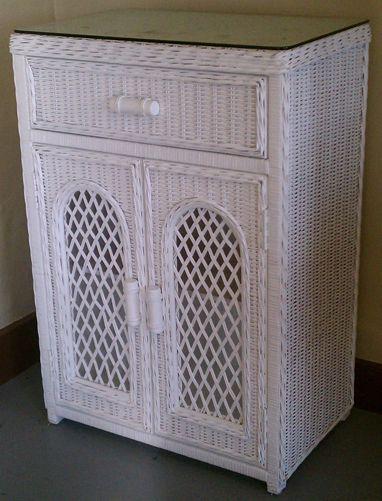 2-Door 1-Drawer Linen Cabinet & 13 best Rattan Entertainment Center images on Pinterest | Armoires ...
