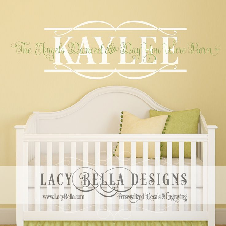 Best Kids Rooms Nursery Images On Pinterest Kids Rooms - Custom vinyl wall decals cheappopular custom vinyl wall lettersbuy cheap custom vinyl wall