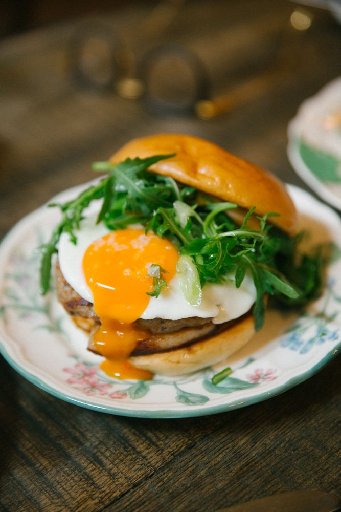 Egg Break - Notting Hill Gate. The Soho House team have taken over a sorry old Thai joint and turned it into an all-day-breakfast dreamboat. Two floors of eggcellence.