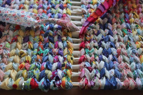 How to make a Rag Rug part 2 of 2   via runquiltknitwrite.com