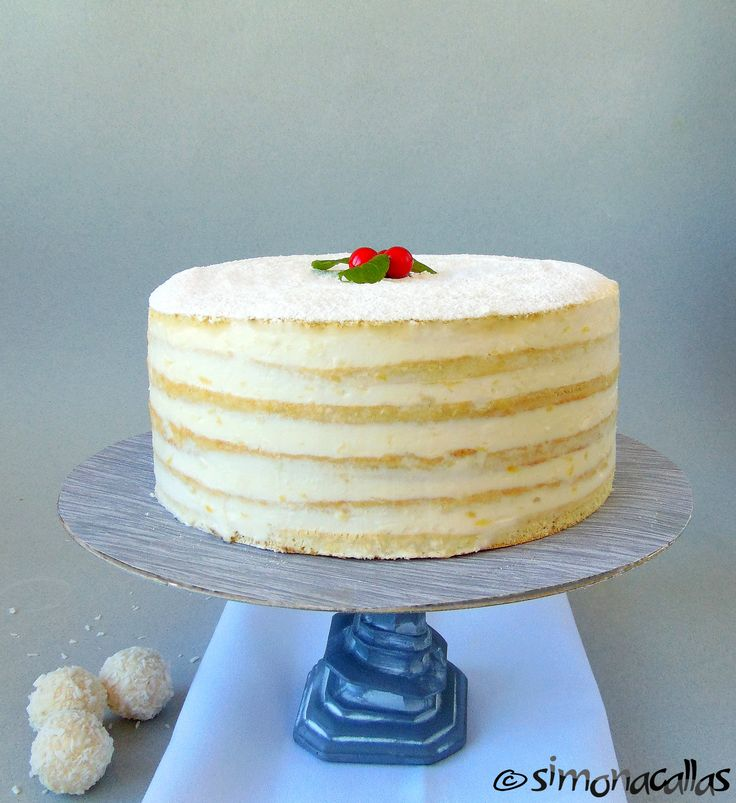Lemon White Cake (Tort Alba ca Zapada)