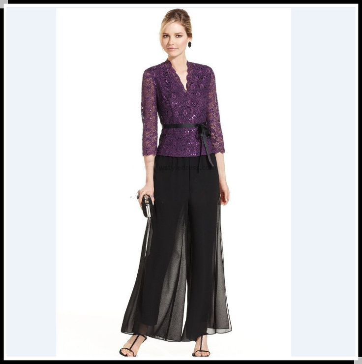 Unique Chiffon Pant Suit Wedding Component - Dress Ideas For Prom ...