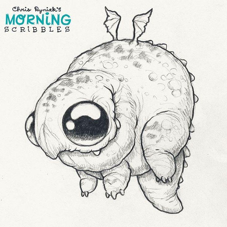 Lumpy Dragon  #morningscribbles