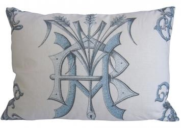 Nancy  Price Monogram pillow and this appears to have the RH in place.