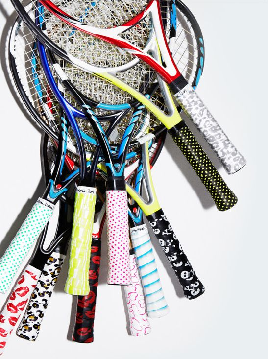 Montreal London tennis grips
