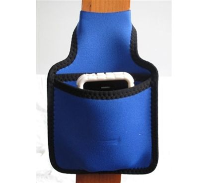 Bunk Pocket - Dorm Room Bedding Accessory for keeping your cell phone bedside.  Bunk Bed Style Pocket for holding accessories and important dorm items bedside.  Safer than a shelf as items are safe and secure in the Bunk Pocket.