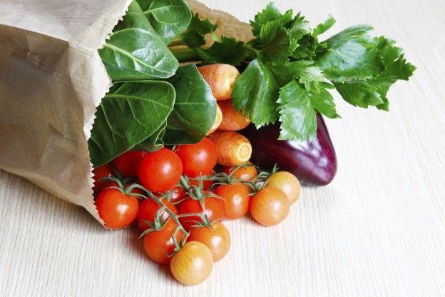 1. Las verduras
