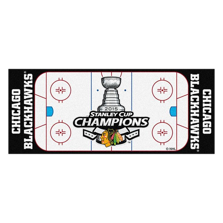Chicago Blackhawks 2015 NHL Stanley Cup Champions Floor Runner (29.5x72)