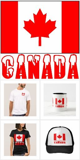 Canada. Images for products using the flag of Canada or Canadian flag.