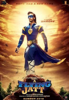 Tiger Shroff is 'A Flying Jatt' – Bollywood in Action!