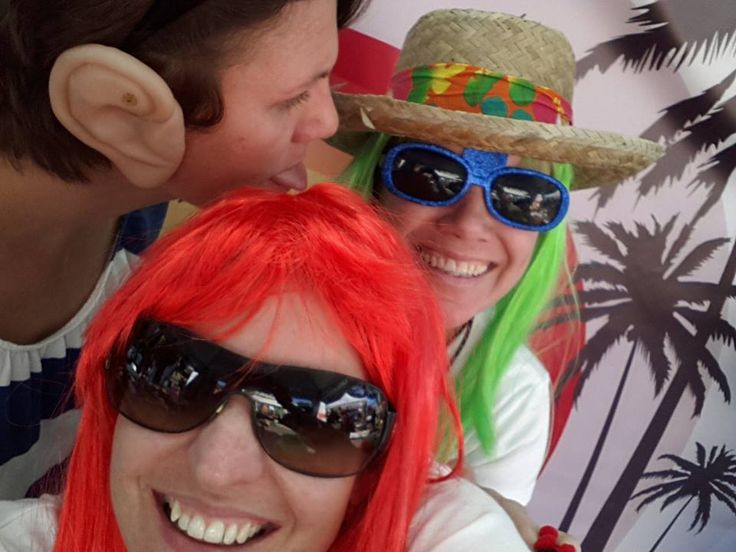 Having FUN at our selfie booth raising money for 'One in a Million' campaign - R10 donations for wildlife conservation #oneinamillionsa #mrpricepro #selfies
