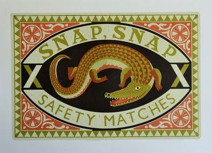 Snap Snap Safety Matches | Sanders of Oxford