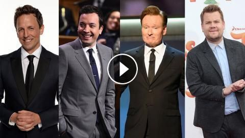 Seth Meyers Conan O'Brien James Corden & Jimmy Fallon Emotionally Reflect on 2016 Election Results: The late night hosts fused humor with…
