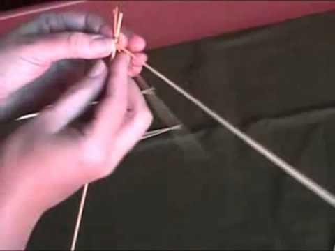 Плетение из соломы Камышик плоский.mp4